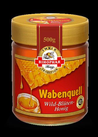 Wabenquell Wild-Blüten-Honig