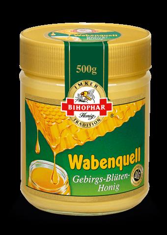 Wabenquell Gebirgs-Blüten-Honig