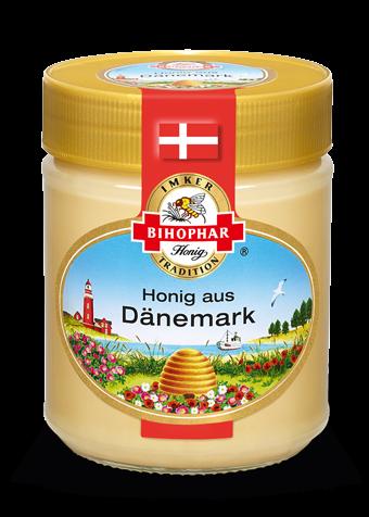 Glas Länderhonig: Geschmack der dänischen Küste