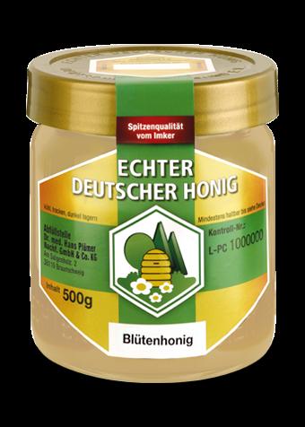 Hochwertiger Blütenhonig ausgezeichnet vom Deutschen Imkerbund