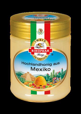 Glas Länderhonig: Geschmack mexikanischer Hochplateaus