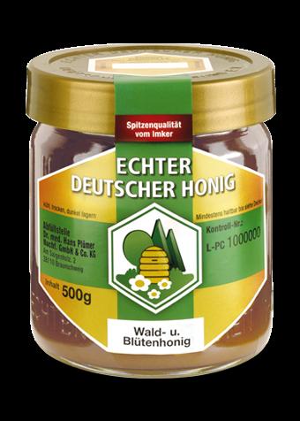 Hochwertiger Wald- und Blütenhonig ausgezeichnet vom Deutschen Imkerbund