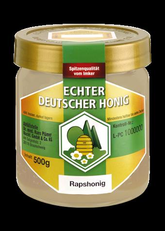 Hochwertiger Rapshonig ausgezeichnet vom Deutschen Imkerbund